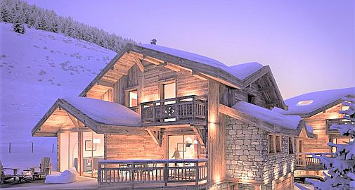 The chalets to be built