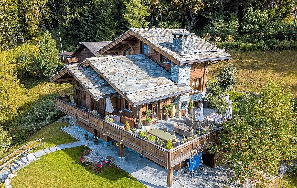The chalet for sale in Nendaz