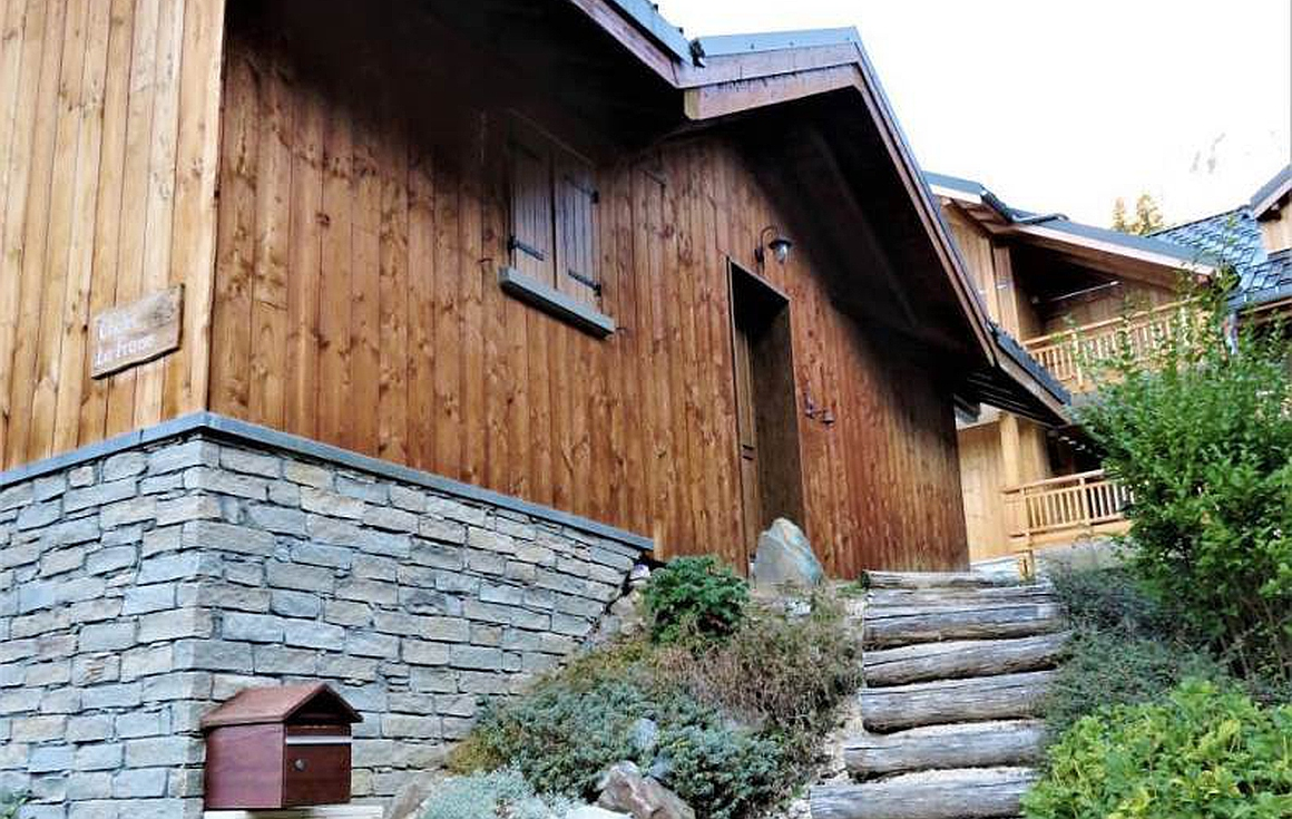 The chalet for sale in Vaujany