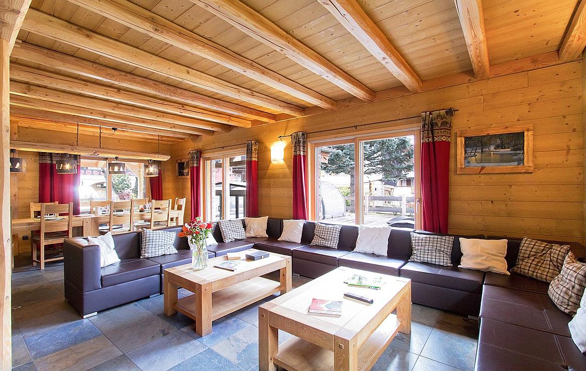 The chalet for sale Les 2 Alpes