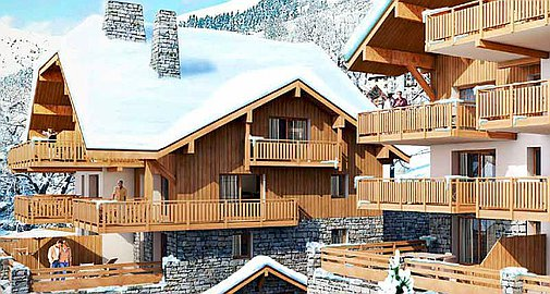 Off plan apartments for sale in Vaujany