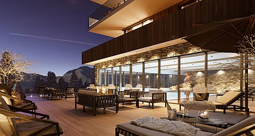 Les Arcs off plan apartments with superb on-site facilities