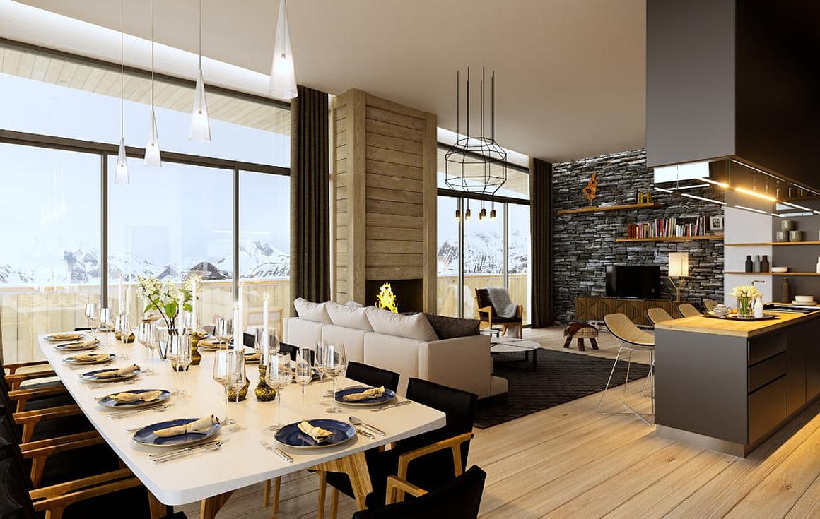 Example Interior of apartments