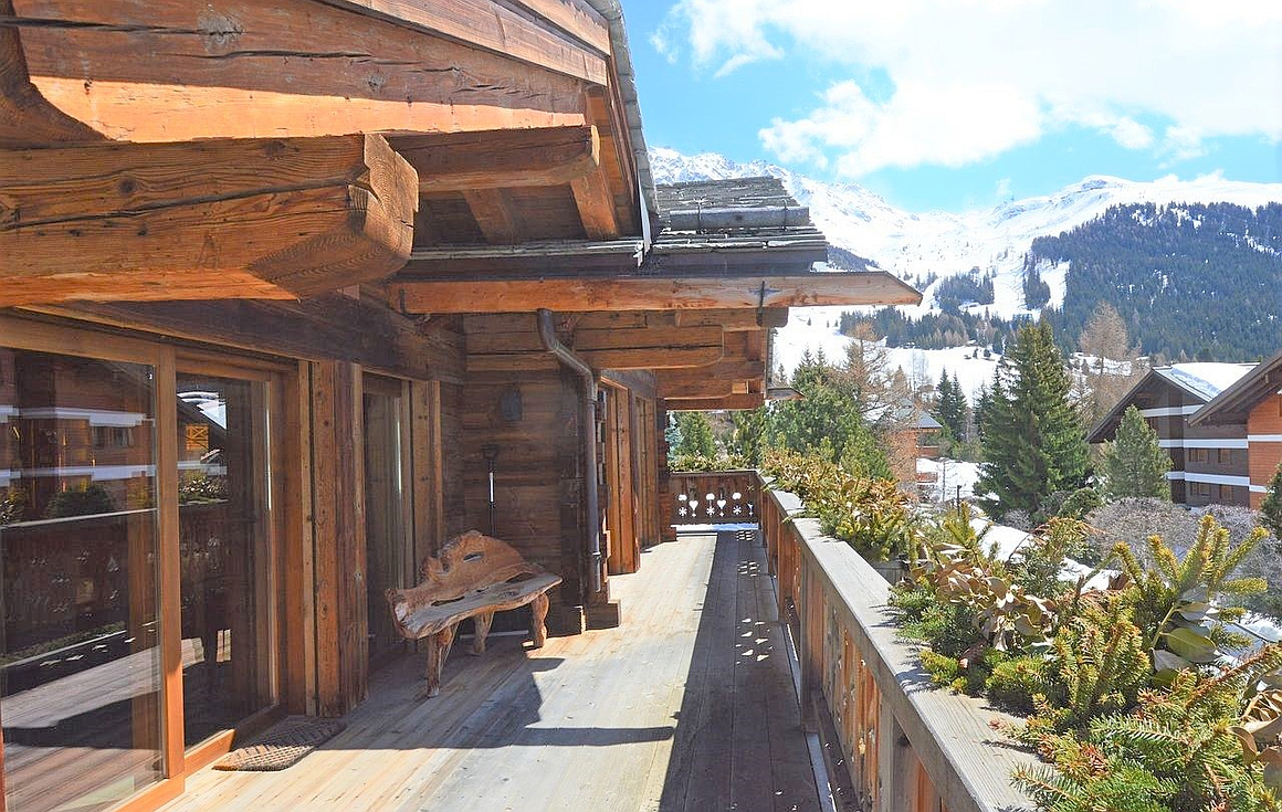 The Verbier chalet for sale