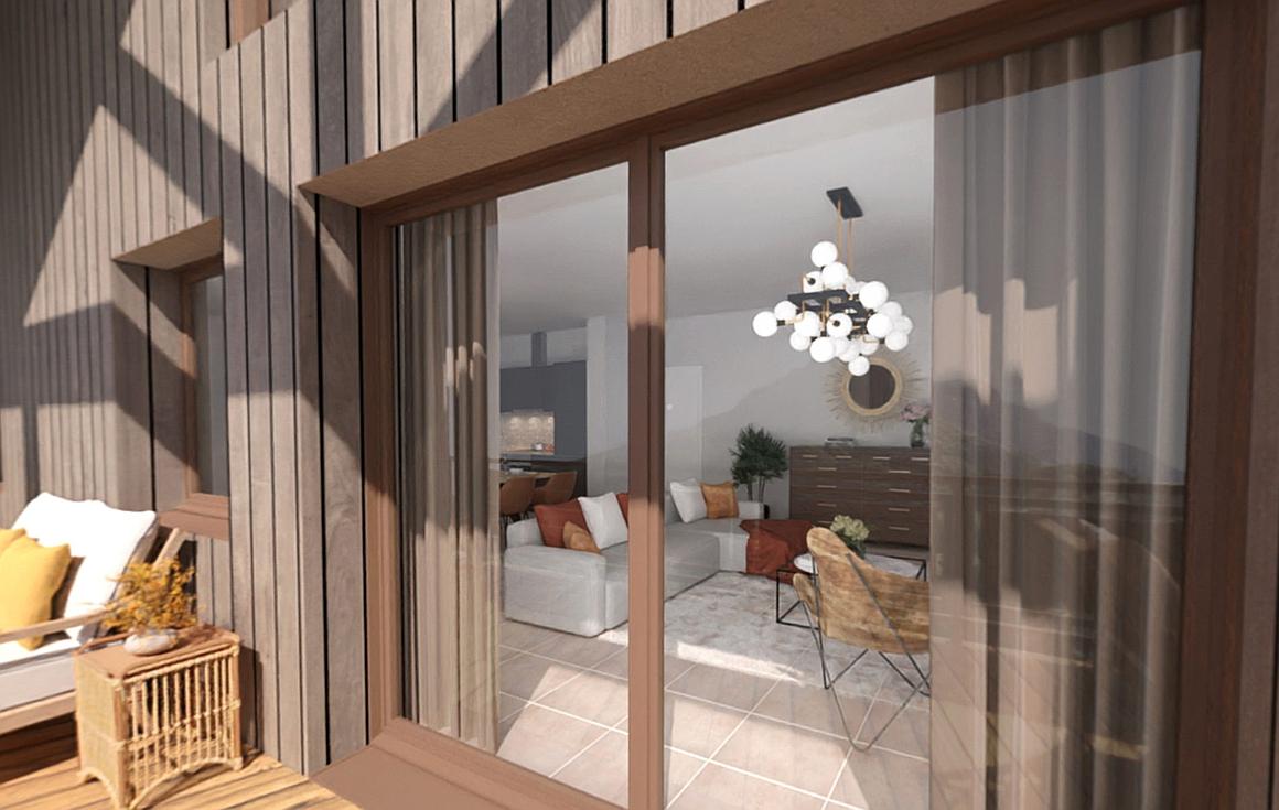 Interiors of apartments