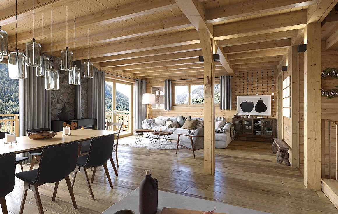 The amazing Chatel chalets for sale