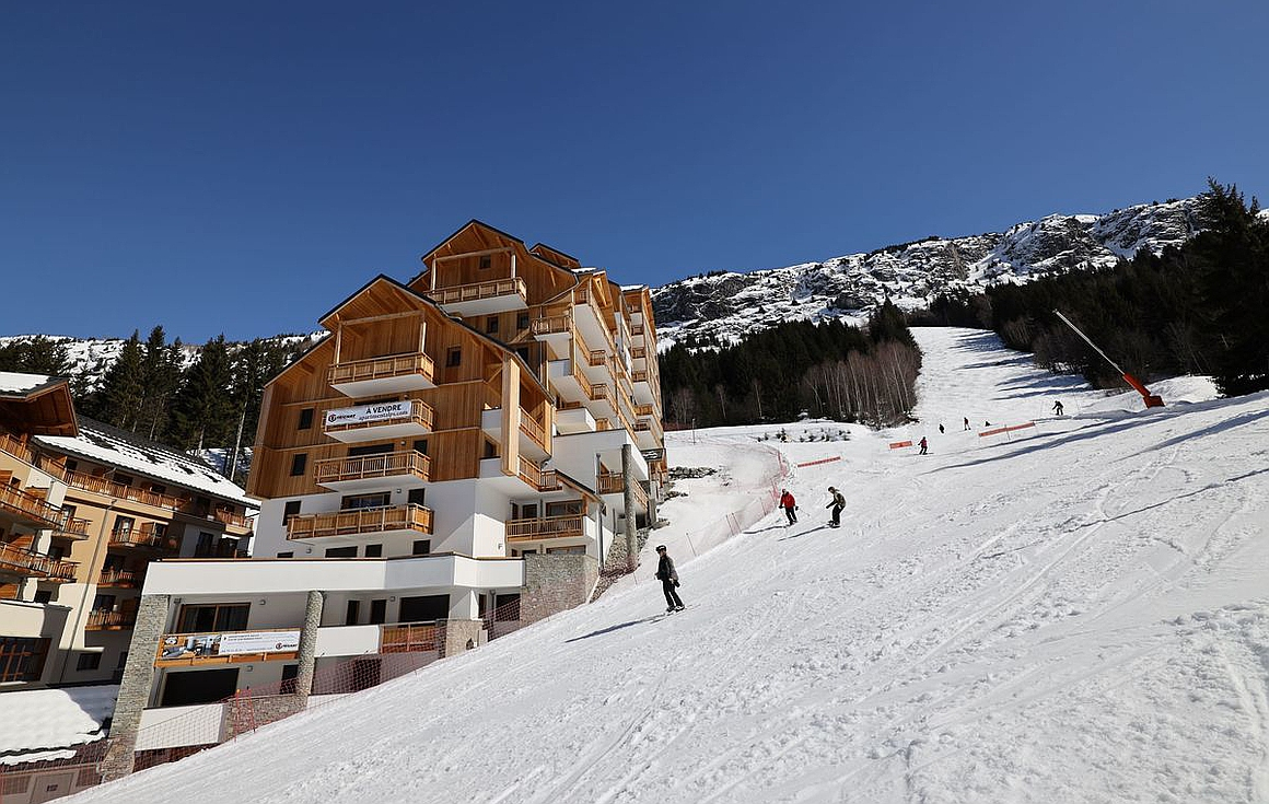 The ski properties for sale in the Alps