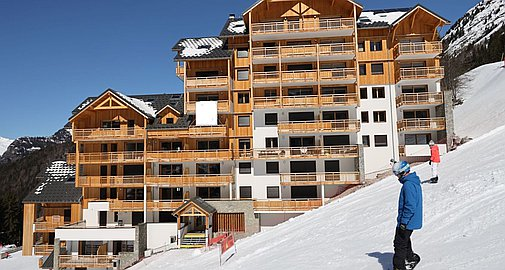 Oz en Oisans apartments for sale