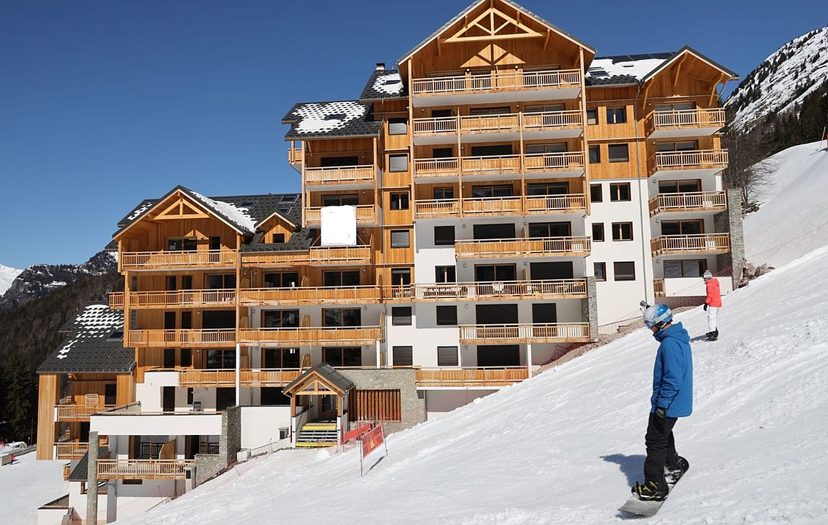 The Oz en Oisans apartments