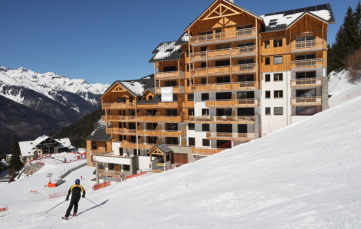 The ski in and out apartments for sale