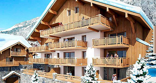Vaujany apartments for sale