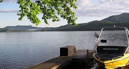Waterfront property for sale in Mont Tremblant