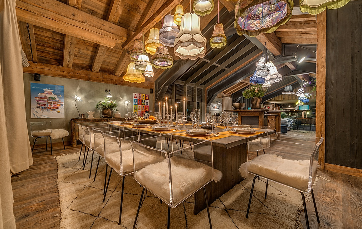 Stunning dining area