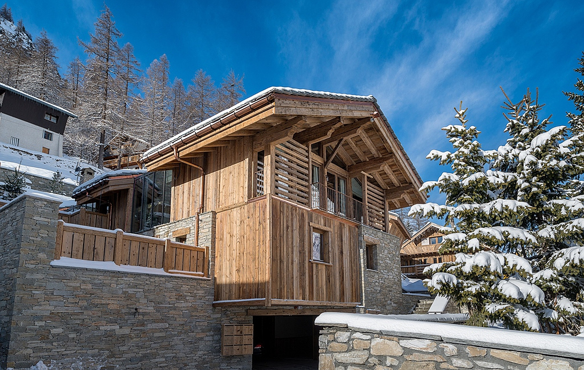 The spectacular chalet