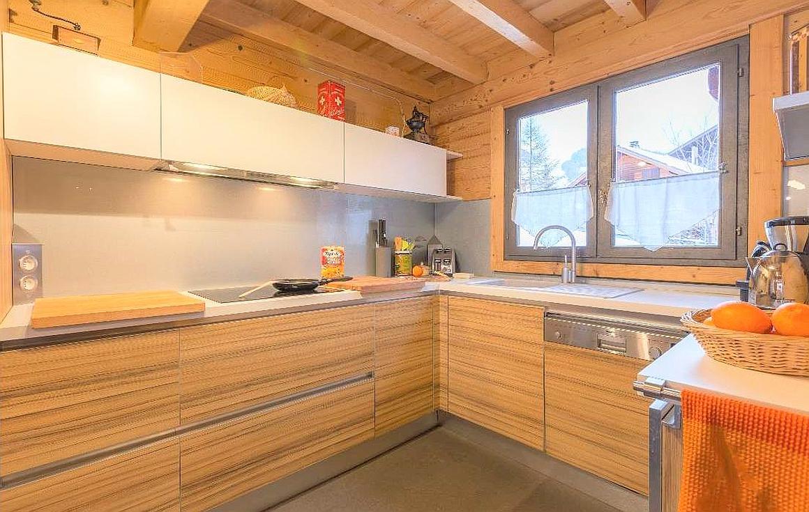 The chalet kitchen