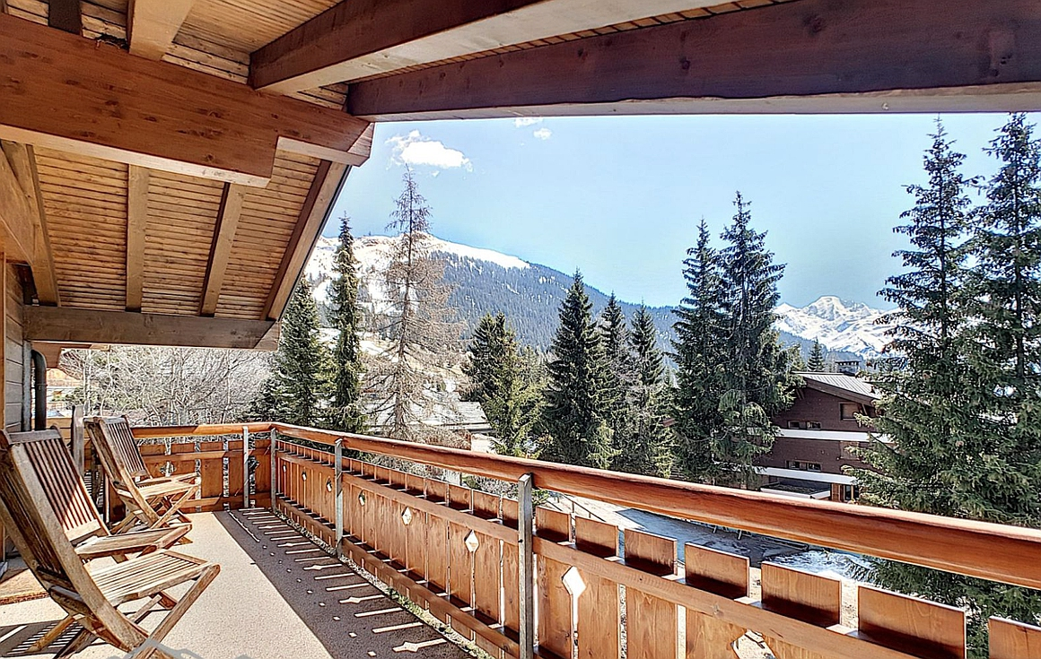 View from the Apartment for sale in Verbier