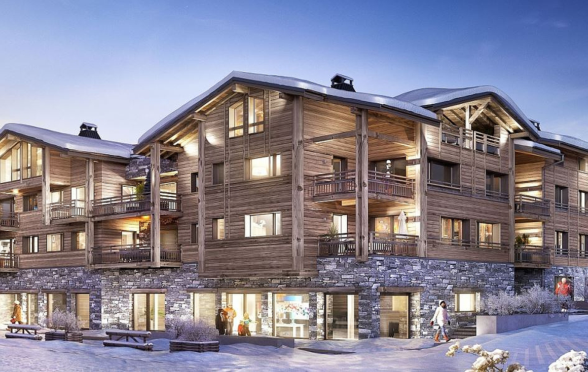 Les Gets apartments for sale 30m from slopes