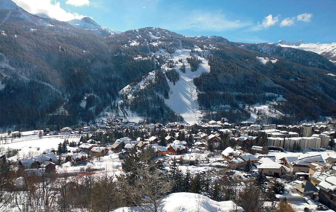 The village of Serre Chevelier