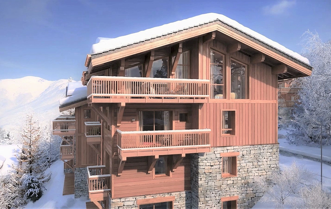 The alpine chalets for sale