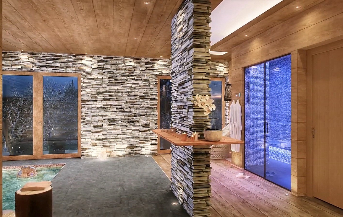 The Spa areas