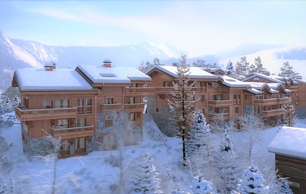 The Courchevel ski apartments for sale