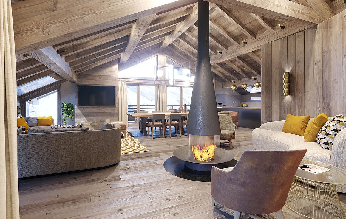 Luxury Interior finishes