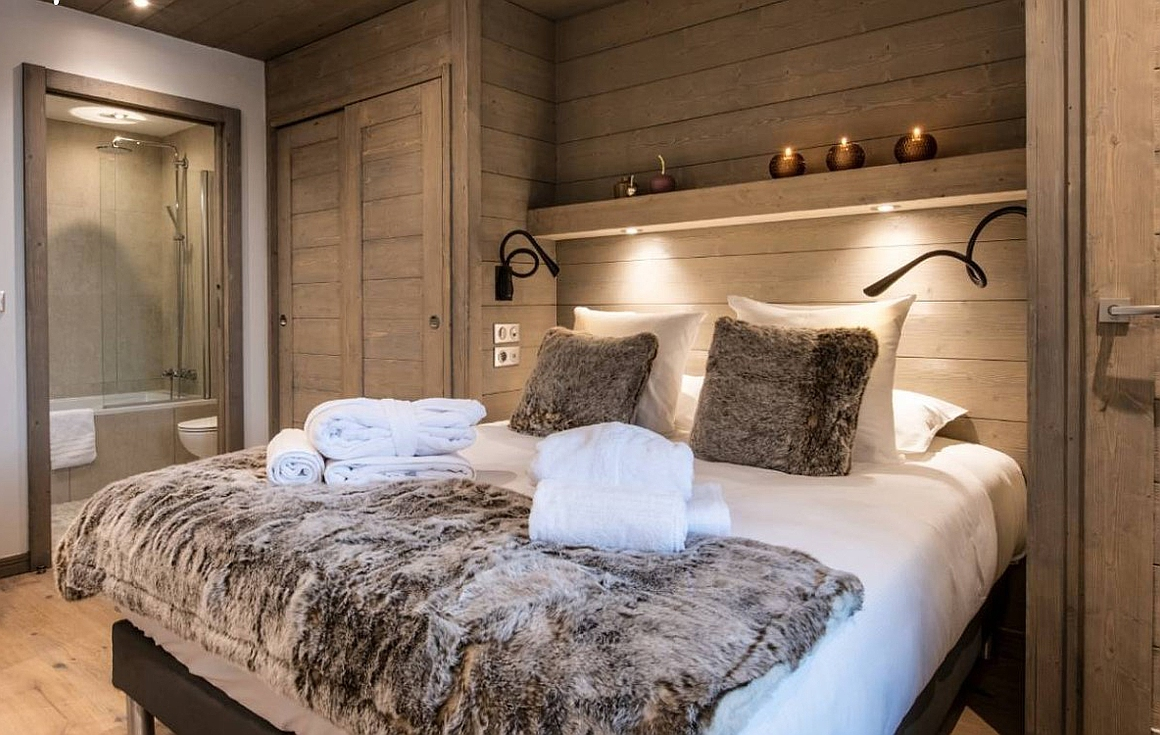 Example bedrooms previously finished