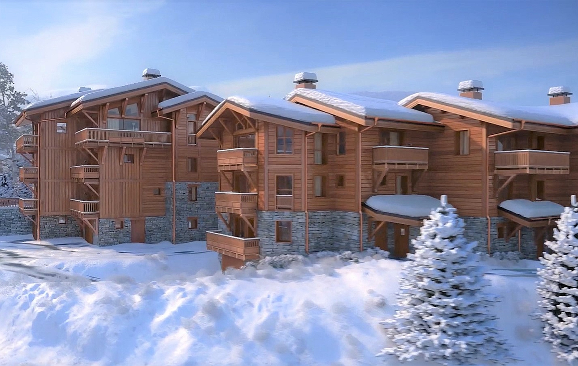 The individual ski properties for sale in Courchevel