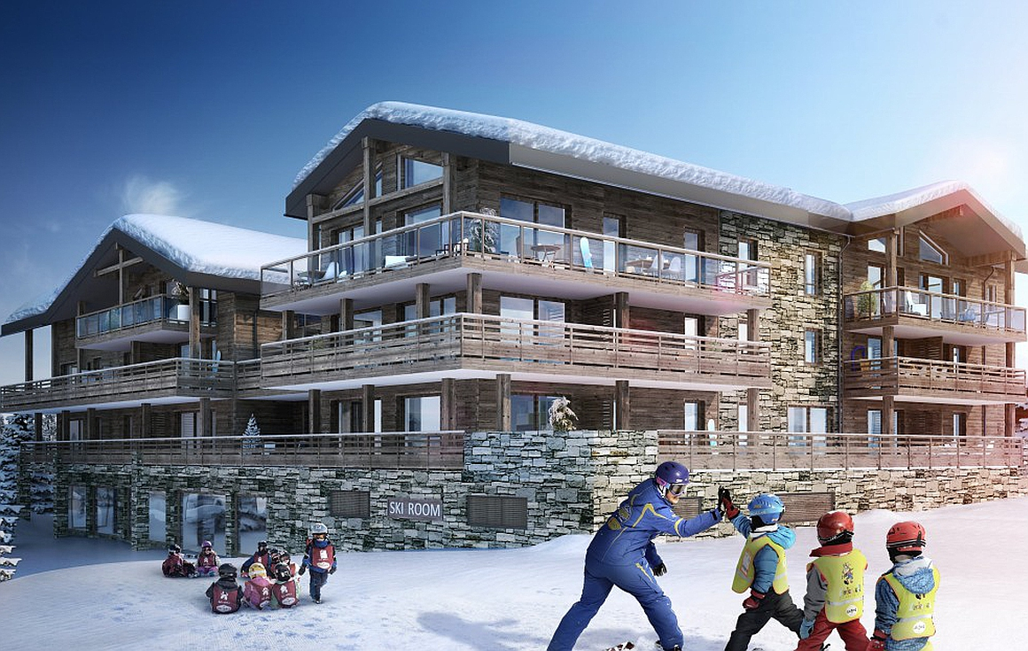 Ski in and out apartments for sale in Les Gets