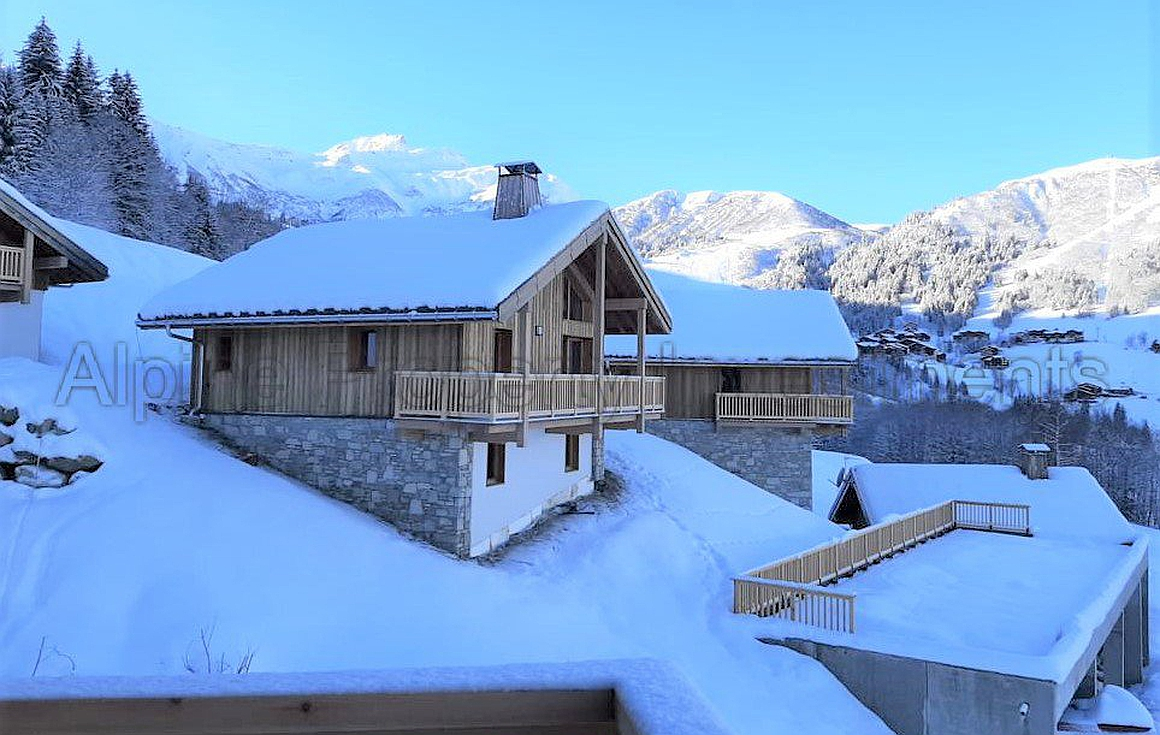 The Valmorel chalets for sale