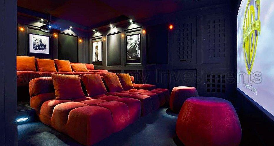Large Cinema room