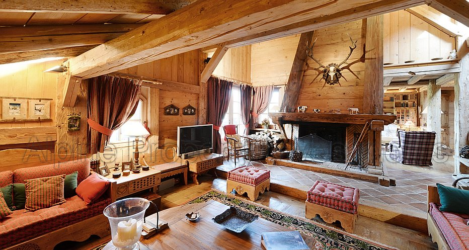 Cosy and authentic living areas