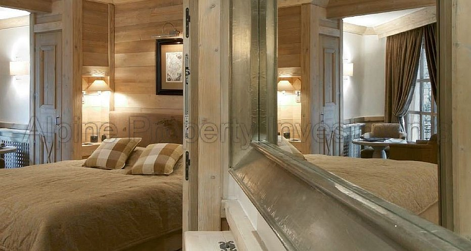 The luxury bedrooms