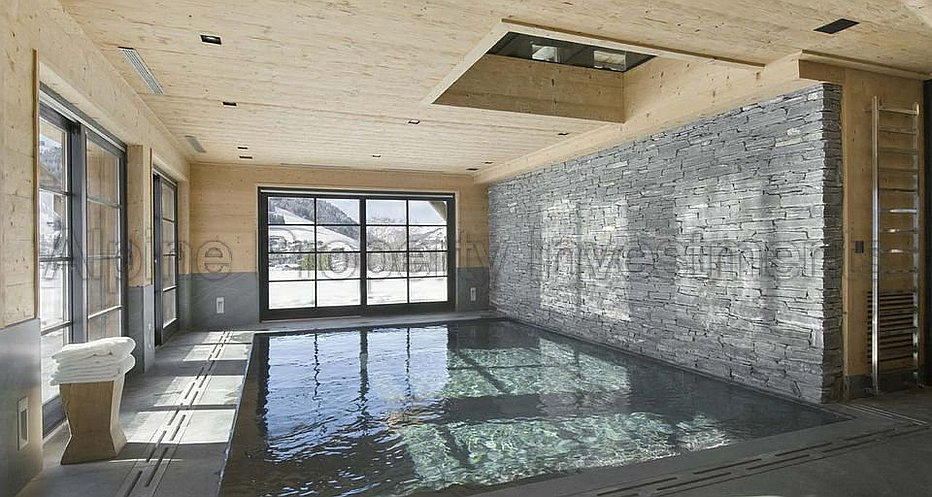 Fully equipped spa with pool