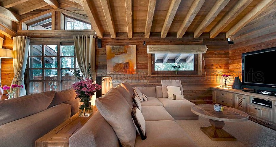 The spectacular living room