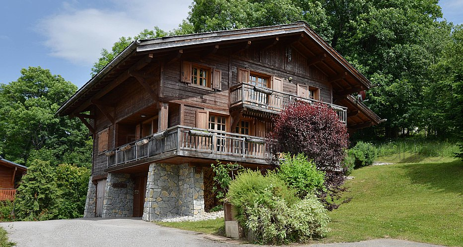 The stunning chalet