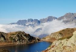 Vaujany, Alpe-d'Huez, Isere, Rhone Alps